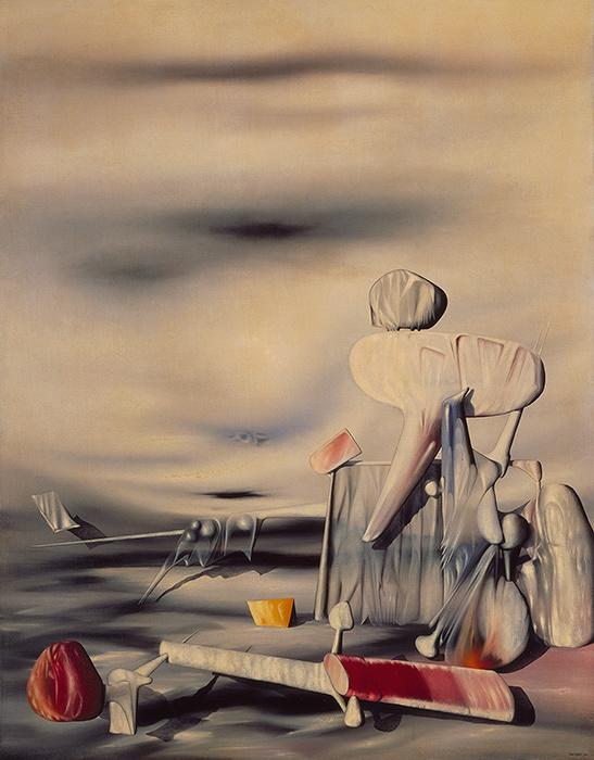 イヴ・タンギー『風のアルファベット』 1944年 横浜美術館蔵