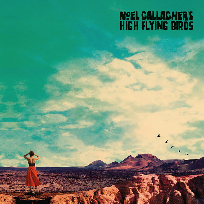 Noel Gallagher's High Flying Birds『Who Built The Moon』ジャケット