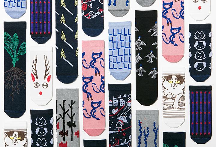 「つつの靴下」作品ビジュアル