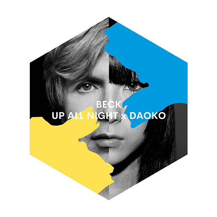 BECK『UP ALL NIGHT x DAOKO』ジャケット