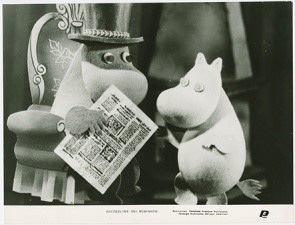 写真「Happy days in Moomin Valley」ウッチフィルムミュージアム所蔵 Photo owned by : Film Museum in Lodz ©Moomin Characters