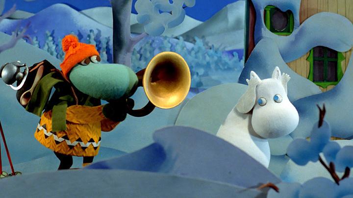 劇中場面『ムーミン谷とウィンターワンダーランド』より ©Filmkompaniet / Animoon Moomin Characters