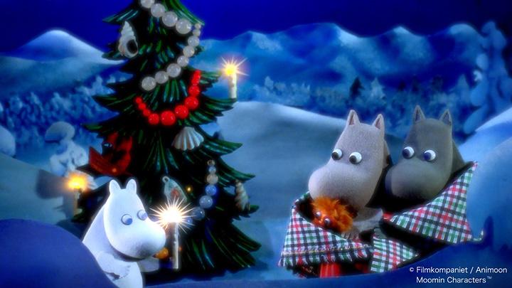 『映画「ムーミン谷とウィンターワンダーランド」公開記念 MOOMIN パペット・アニメーション展』メインビジュアル ©Filmkompaniet / Animoon Moomin Characters