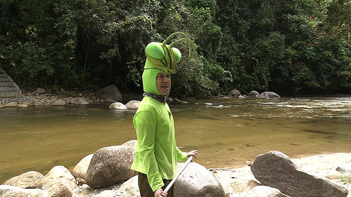 『香川照之の昆虫すごいぜ!「カマキリ先生☆マレーシアへ行く」』より