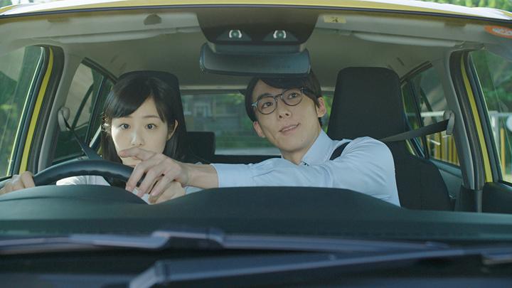 『安全安心ドライビングスクール 優男教官 篇』より