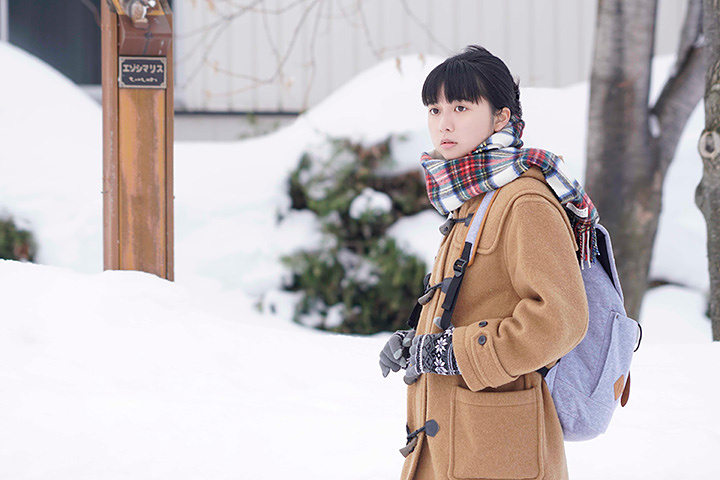 佐倉由仁役を演じる上白石萌歌 ©2018 「羊と鋼の森」製作委員会