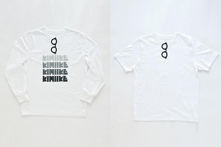 SUPERTHANKS 「きみイケ」ロングTシャツ、Tシャツ