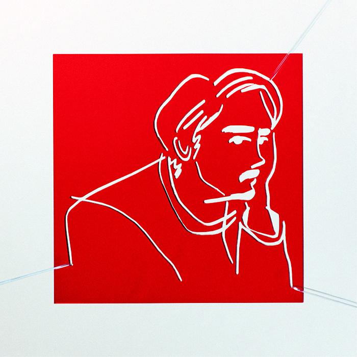 TENDRE『Red Focus』ジャケット