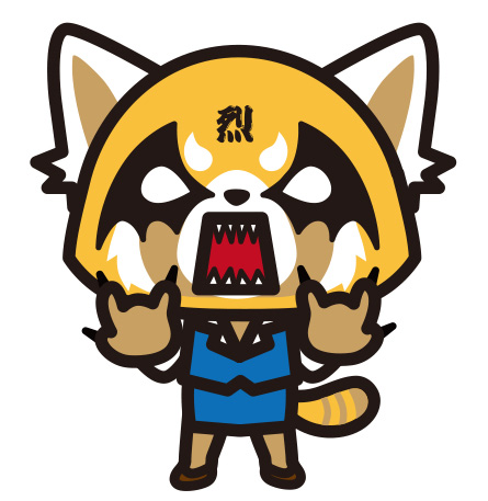 烈子キャラクタービジュアル ©'15, '17, SANRIO サンリオ/TBS・ファンワークス