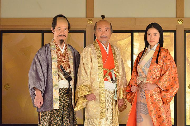 左から内村光良、竹中直人、藤野涼子 『LIFE!~人生に捧げるコント~』より
