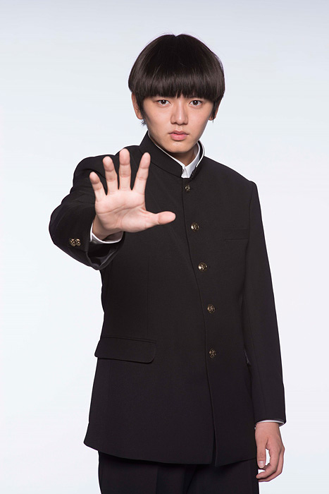 モブ役の濱田龍臣 ©ONE・小学館/ドラマ「モブサイコ 100」製作委員会