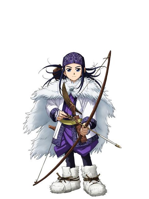 アシリパキャラクタービジュアル ©野田サトル/集英社・ゴールデンカムイ製作委員会