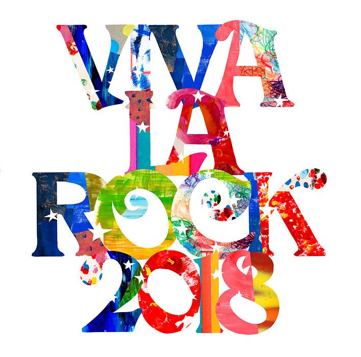 『VIVA LA ROCK 2018』ロゴ