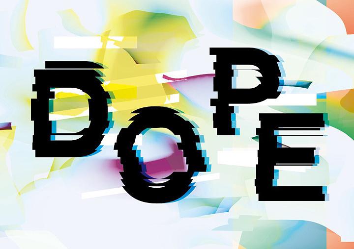 『DOPE』メインビジュアル