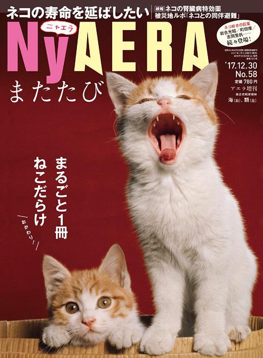 『NyAERA(ニャエラ)またたび(AERA増刊)』表紙