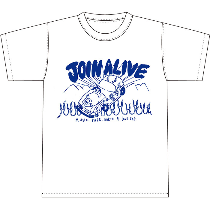 『JOIN ALIVE 2018』Mount Alive会員先行チケット特典Tシャツ