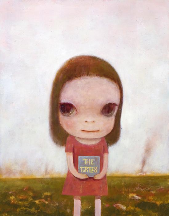 奈良美智『Eve of Destruction』2006年 カンヴァスにアクリル絵の具 117×91cm ©Yoshitomo Nara