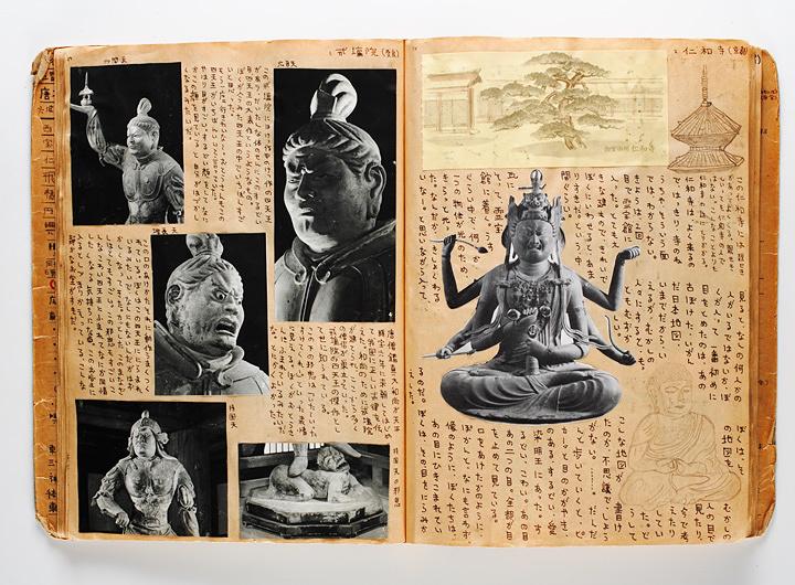「仏像スクラップ」1969~1971年