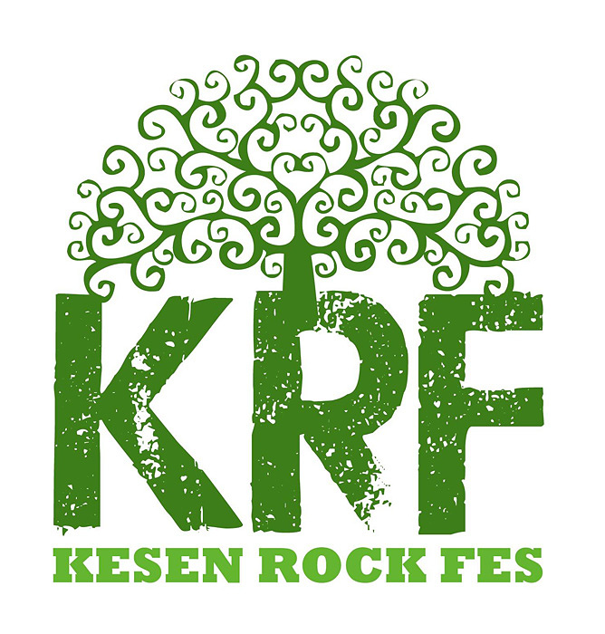 『KESEN ROCK FESTIVAL』ロゴ