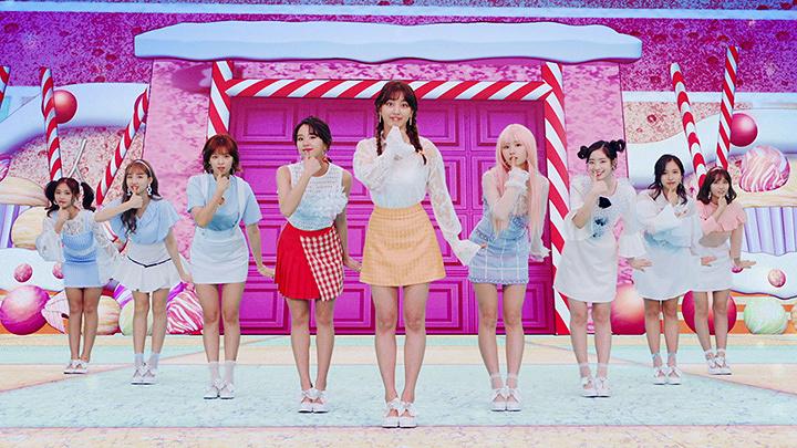 "TWICE""Candy Pop""PVより"