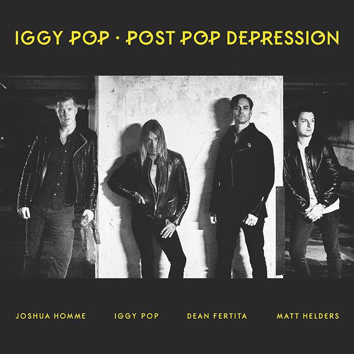 イギー・ポップ『POST POP DEPRESSION』ジャケット