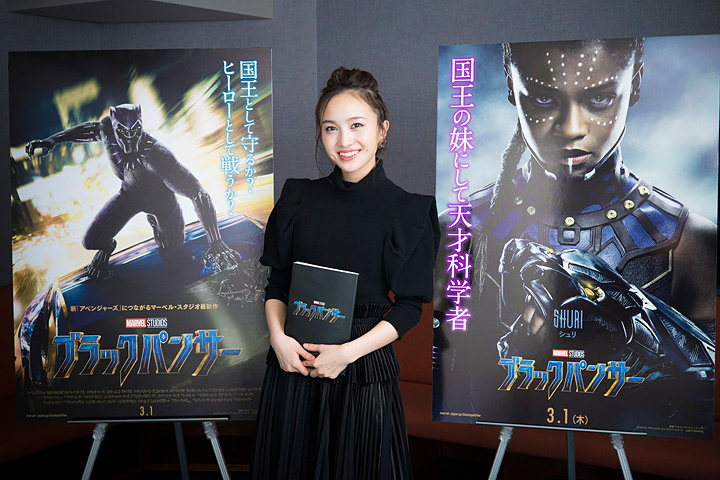 百田夏菜子 ©Marvel Studios 2018 MARVEL-JAPAN.JP/blackpanther