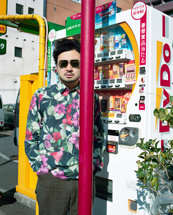 前野健太 Photo by ホンマタカシ