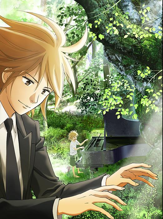 『ピアノの森』キービジュアル ©一色まこと・講談社/ピアノの森アニメパートナーズ