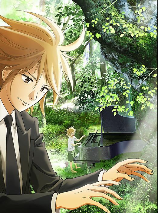 『ピアノの森』キービジュアル ©一色まこと・講談社/ピアノの森