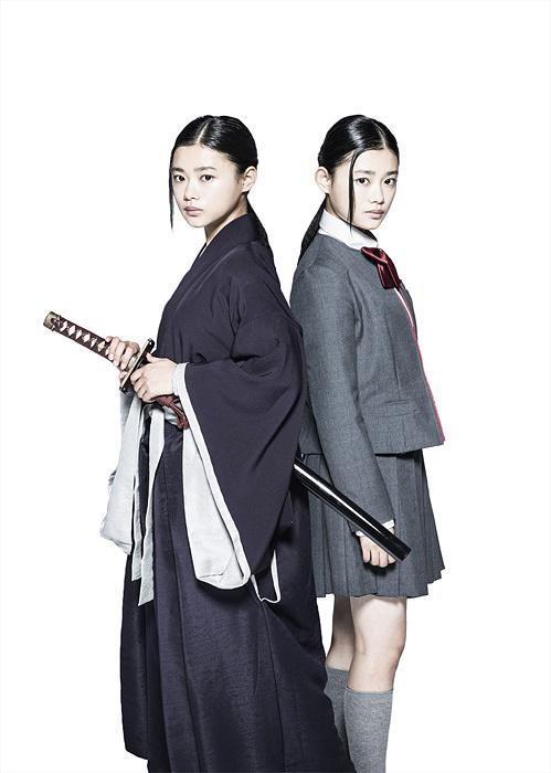 朽木ルキア役の杉咲花 『BLEACH』 ©2018 映画「BLEACH」製作委員会
