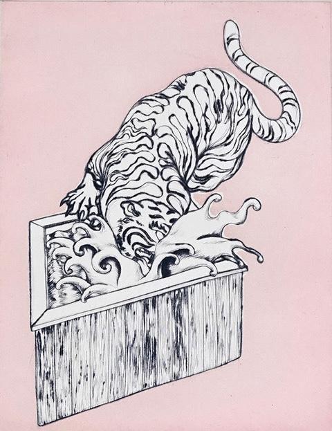 束芋『湯船に虎』