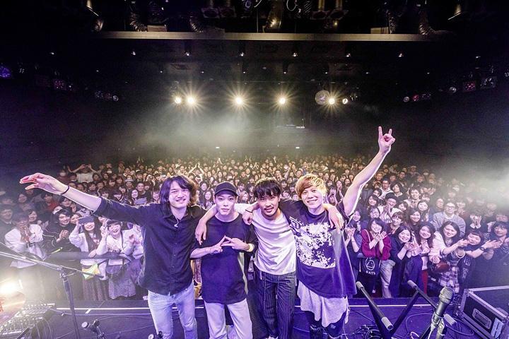 DATS 2018年2月10日に東京・渋谷 WWW Xで開催されたライブの模様 Photo:Kosuke