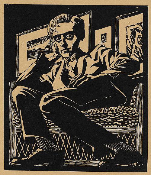 『椅子に座っている自画像』 1920年 All M.C. Escher works copyright © The M.C. Escher Company B.V. - Baarn-Holland. All rights reserved. www.mcescher.com