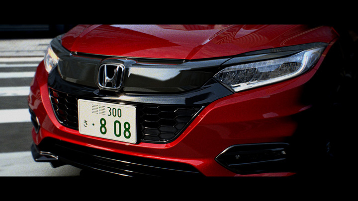 Honda「VEZEL」CMビジュアル