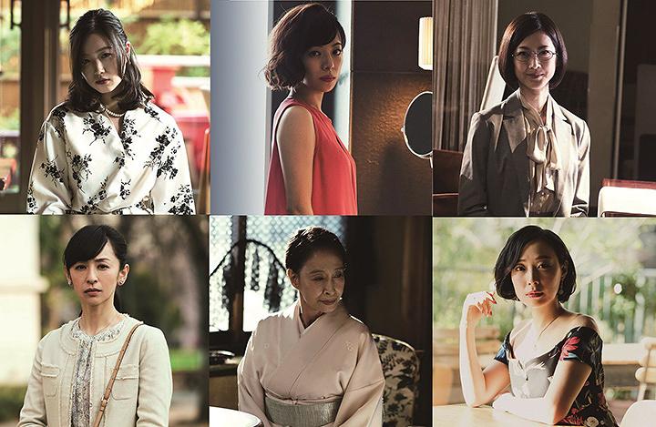 「娼夫」松坂桃李と出会う女性客に桜井ユキ、佐々木心音ら 『娼年』新写真