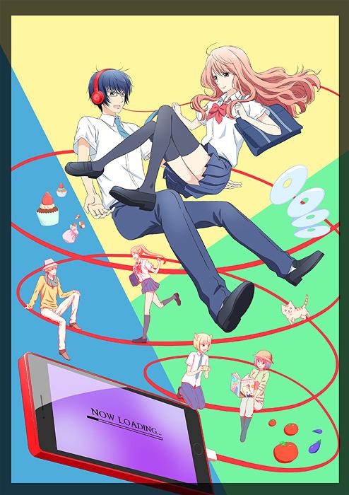 『3D彼女 リアルガール』キービジュアル ©那波マオ/講談社・アニメ「3D彼女 リアルガール」製作委員会