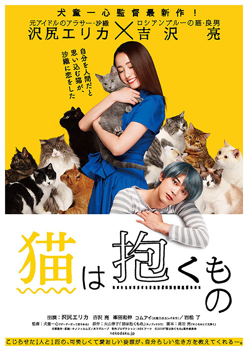 『猫は抱くもの』ティザーポスタービジュアル ©2018「猫は抱くもの」製作委員会