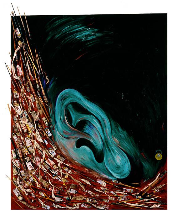 『アーティストの河』 1987年 個人蔵