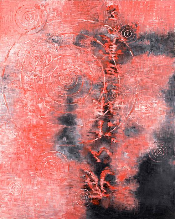 『死んだ私に目覚める』 2009年 作家蔵(横尾忠則現代美術館寄託)