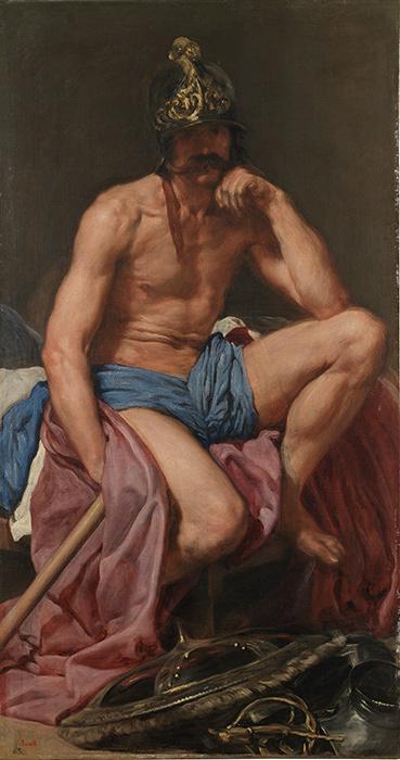 ディエゴ・ベラスケス『マルス』1638年頃 マドリード、プラド美術館蔵 ©Museo Nacional del Prado