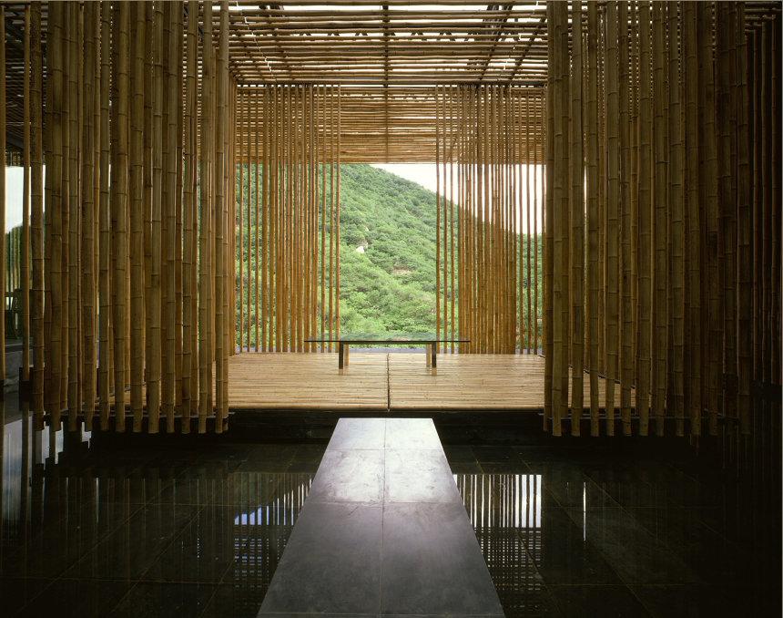 Great (Bamboo) Wall 2002 Photo:Satoshi Asakawa
