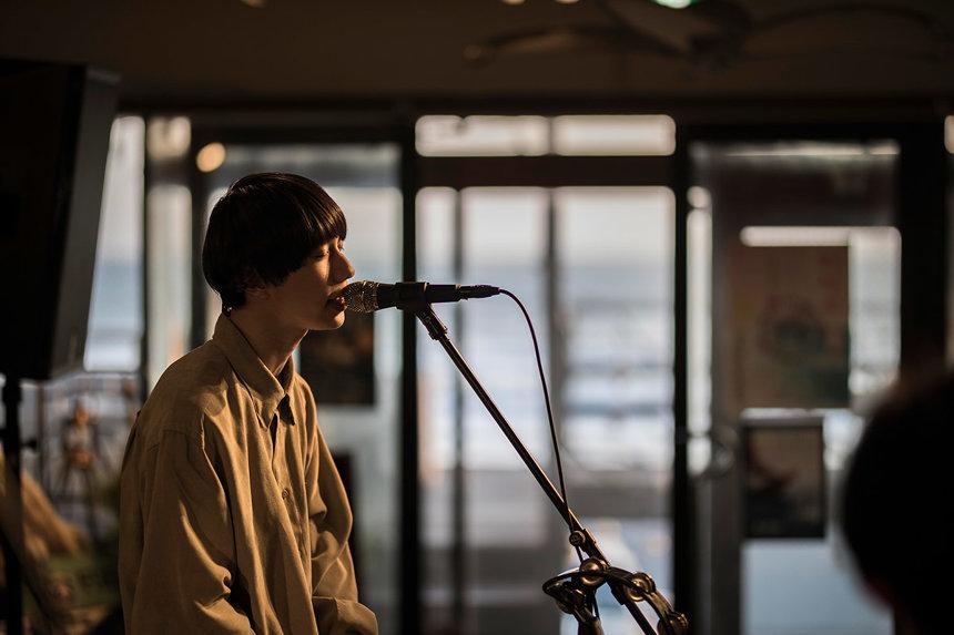 LUCKY TAPES 3月4日に神奈川・鎌倉LOOPで行なわれたライブから Photo: Kosuke