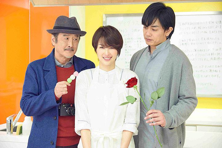 左から『東京センチメンタルSP~御茶ノ水の恋~』に出演する吉田鋼太郎、吉瀬美智子、青柳翔(劇団EXIEL)