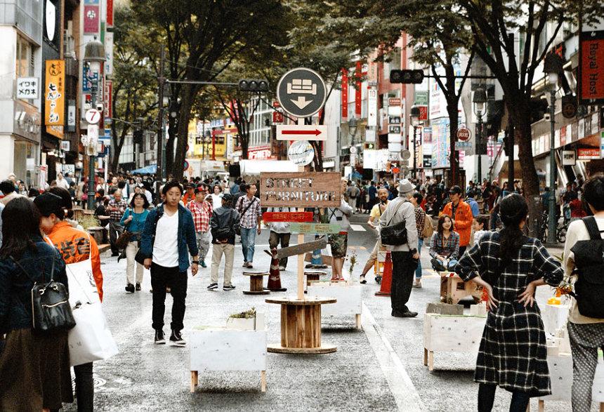 Shibuya Hack Project活動イメージビジュアル