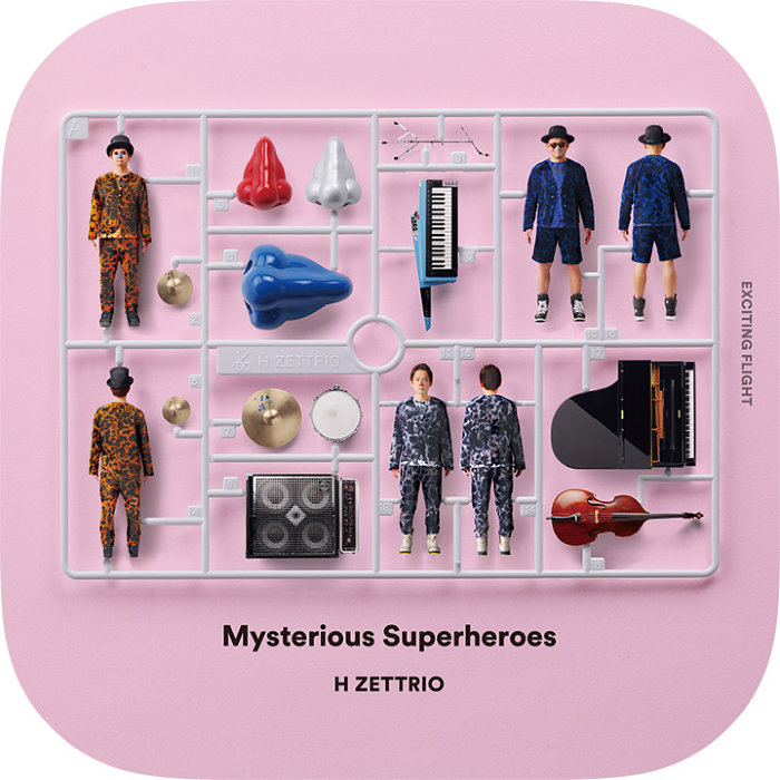 H ZETTRIO『Mysterious Superheroes [EXCITING FLIGHT]』アイコン