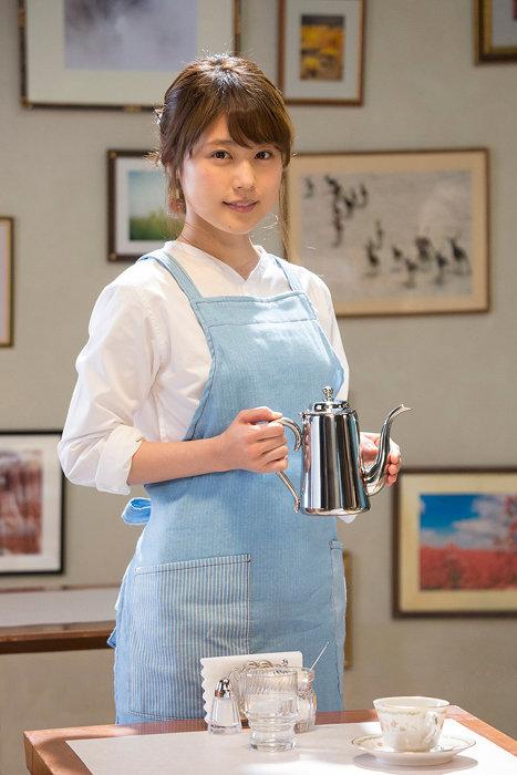 時田数役を演じる有村架純 ©2018 映画「コーヒーが冷めないうちに」製作委員会