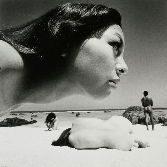 篠山紀信(日本、1940)『誕生』1968年  ©Kishin Shinoyama