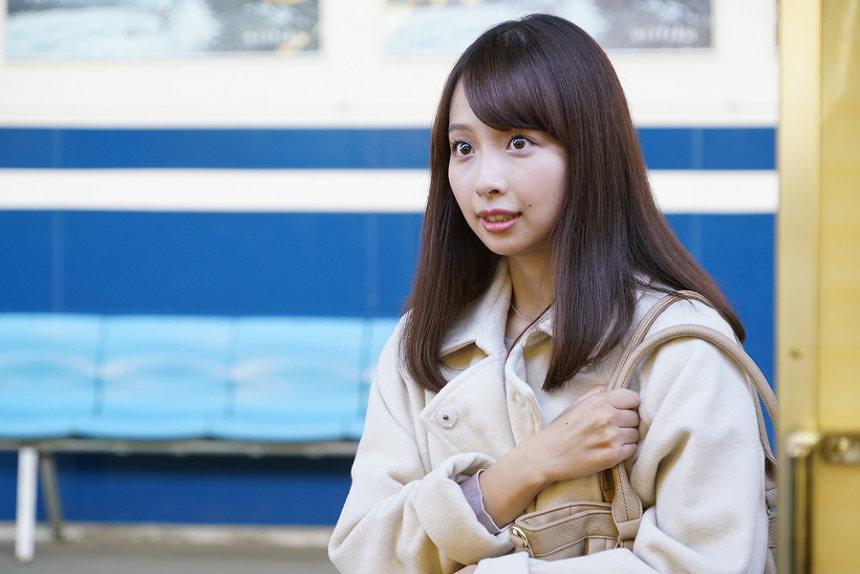 甲田美沙子役の華村あすか ©「宮本から君へ」製作委員会