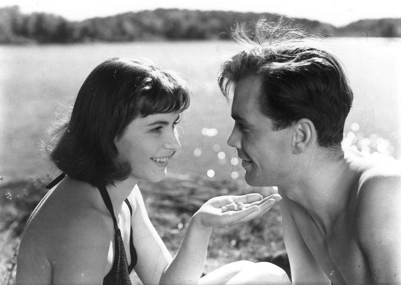 『夏の遊び』(1951年) ©AB Svensk Filmindustri