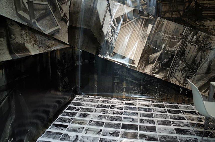 小松浩子『人格的自律処理』展示風景 2017年ギャラリーαM